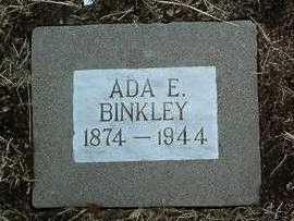 HAYNES BINKLEY, ADA ELLEN - Yavapai County, Arizona | ADA ELLEN HAYNES BINKLEY - Arizona Gravestone Photos