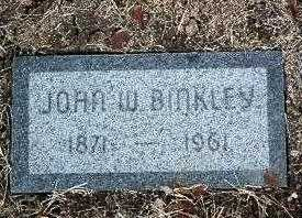 BINKLEY, JOHN WILLARD - Yavapai County, Arizona   JOHN WILLARD BINKLEY - Arizona Gravestone Photos