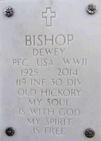 BISHOP, DEWEY (FESS) - Yavapai County, Arizona   DEWEY (FESS) BISHOP - Arizona Gravestone Photos