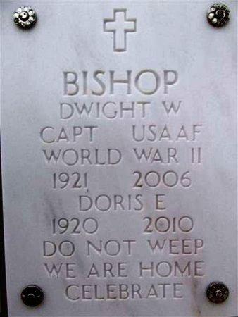 BISHOP, DORIS E. - Yavapai County, Arizona | DORIS E. BISHOP - Arizona Gravestone Photos
