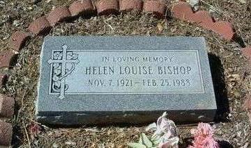 BISHOP, HELEN LOUISE - Yavapai County, Arizona | HELEN LOUISE BISHOP - Arizona Gravestone Photos