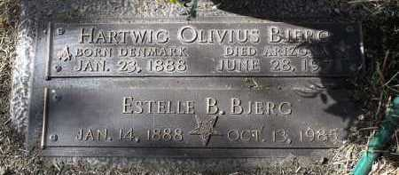 BLAIR BJERG, ESTELLE - Yavapai County, Arizona | ESTELLE BLAIR BJERG - Arizona Gravestone Photos