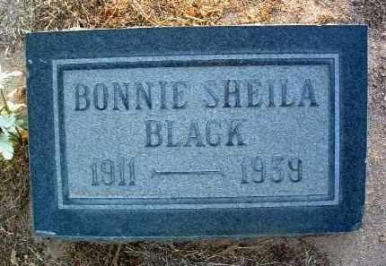 BLACK, BONNIE ETHEL / SHEILA - Yavapai County, Arizona | BONNIE ETHEL / SHEILA BLACK - Arizona Gravestone Photos