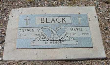 BLACK, CORWIN VICTOR - Yavapai County, Arizona | CORWIN VICTOR BLACK - Arizona Gravestone Photos