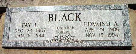 BLACK, FAY L. - Yavapai County, Arizona | FAY L. BLACK - Arizona Gravestone Photos