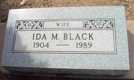 BLACK, IDA M. - Yavapai County, Arizona | IDA M. BLACK - Arizona Gravestone Photos
