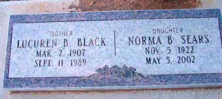 BLACK, LUCUREN B. - Yavapai County, Arizona   LUCUREN B. BLACK - Arizona Gravestone Photos