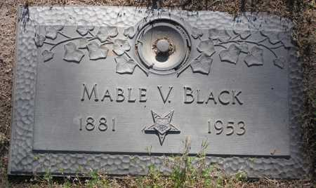 BLACK, MABLE V. - Yavapai County, Arizona | MABLE V. BLACK - Arizona Gravestone Photos