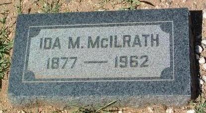 BLACKBURN MCILRATH, I. - Yavapai County, Arizona | I. BLACKBURN MCILRATH - Arizona Gravestone Photos