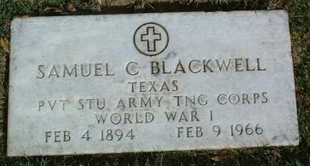 BLACKWELL, SAMUEL CLAY - Yavapai County, Arizona | SAMUEL CLAY BLACKWELL - Arizona Gravestone Photos