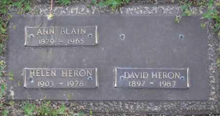 HERON, HELEN - Yavapai County, Arizona   HELEN HERON - Arizona Gravestone Photos