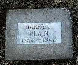 BLAIN, HARVEY C. (HARRY) - Yavapai County, Arizona | HARVEY C. (HARRY) BLAIN - Arizona Gravestone Photos
