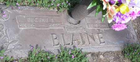 BLAINE, ALMA ROBERTA - Yavapai County, Arizona | ALMA ROBERTA BLAINE - Arizona Gravestone Photos