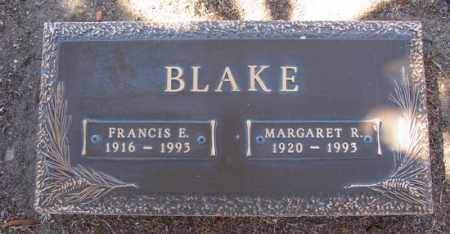 BLAKE, FRANCIS EDWARD, SR. - Yavapai County, Arizona | FRANCIS EDWARD, SR. BLAKE - Arizona Gravestone Photos