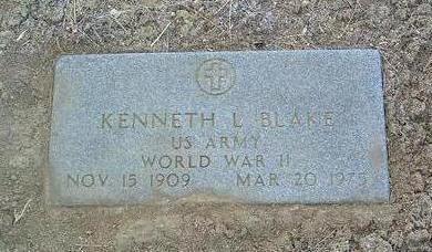 BLAKE, KENNETH L. - Yavapai County, Arizona   KENNETH L. BLAKE - Arizona Gravestone Photos