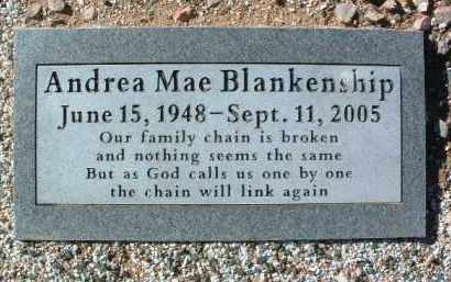 BLANKENSHIP, ANDREA MAE - Yavapai County, Arizona | ANDREA MAE BLANKENSHIP - Arizona Gravestone Photos