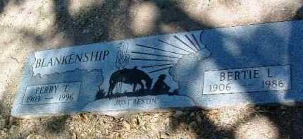 BLANKENSHIP, PERRY THOMAS - Yavapai County, Arizona | PERRY THOMAS BLANKENSHIP - Arizona Gravestone Photos