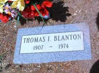 BLANTON, THOMAS I. - Yavapai County, Arizona | THOMAS I. BLANTON - Arizona Gravestone Photos