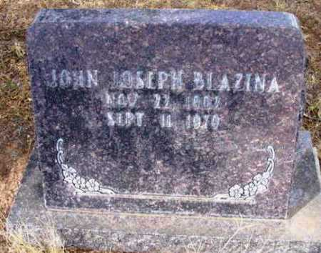 BLAZINA, JOHN JOSEPH - Yavapai County, Arizona | JOHN JOSEPH BLAZINA - Arizona Gravestone Photos