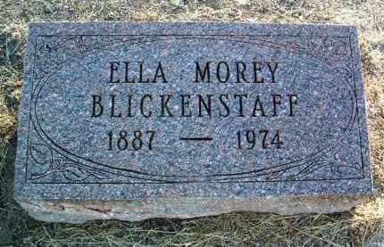 MOREY BLICKENSTAFF, E. - Yavapai County, Arizona | E. MOREY BLICKENSTAFF - Arizona Gravestone Photos