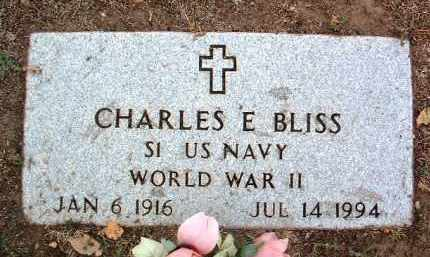 BLISS, CHARLES EDWARD - Yavapai County, Arizona | CHARLES EDWARD BLISS - Arizona Gravestone Photos