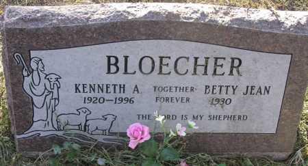 BLOECHER, BETTY JEAN - Yavapai County, Arizona   BETTY JEAN BLOECHER - Arizona Gravestone Photos