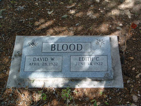 BLOOD, EDITH C. - Yavapai County, Arizona | EDITH C. BLOOD - Arizona Gravestone Photos