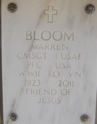 BLOOM, WARREN - Yavapai County, Arizona | WARREN BLOOM - Arizona Gravestone Photos