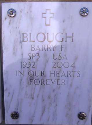 BLOUGH, BARRY F. - Yavapai County, Arizona   BARRY F. BLOUGH - Arizona Gravestone Photos