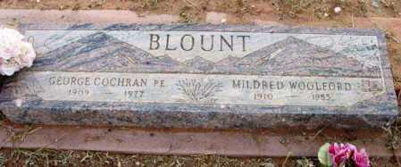 WOOLFORD BLOUNT, MILDRED - Yavapai County, Arizona | MILDRED WOOLFORD BLOUNT - Arizona Gravestone Photos