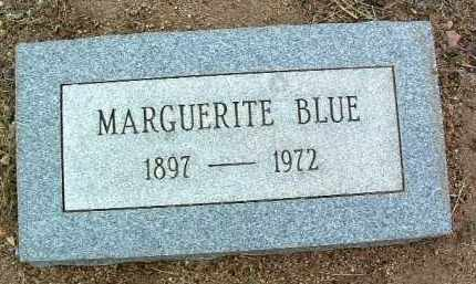 BLUE, MARGUERITE - Yavapai County, Arizona | MARGUERITE BLUE - Arizona Gravestone Photos
