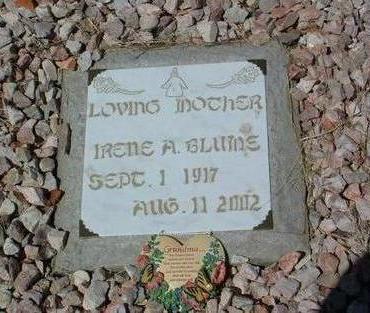 BLUME, IRENE A. - Yavapai County, Arizona | IRENE A. BLUME - Arizona Gravestone Photos