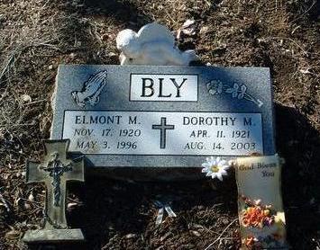 BLY, ELMONT MILLARD - Yavapai County, Arizona | ELMONT MILLARD BLY - Arizona Gravestone Photos