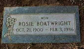 BOATWRIGHT, ROSIE E. - Yavapai County, Arizona | ROSIE E. BOATWRIGHT - Arizona Gravestone Photos