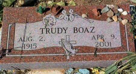 BOGUE BOAZ, GERTRUDE L. - Yavapai County, Arizona | GERTRUDE L. BOGUE BOAZ - Arizona Gravestone Photos