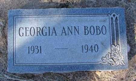 BOBO, GEORGIA ANN (ANNA LOU) - Yavapai County, Arizona | GEORGIA ANN (ANNA LOU) BOBO - Arizona Gravestone Photos