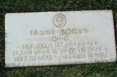 BOGAN, FRANK - Yavapai County, Arizona   FRANK BOGAN - Arizona Gravestone Photos
