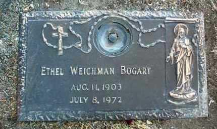 BOGART, ETHEL LUCILLE - Yavapai County, Arizona   ETHEL LUCILLE BOGART - Arizona Gravestone Photos