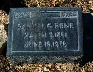 BONE, SAMUEL GIDEON - Yavapai County, Arizona | SAMUEL GIDEON BONE - Arizona Gravestone Photos