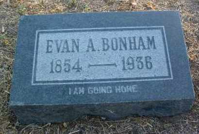 BONHAM, EVAN A.  (E. A.) - Yavapai County, Arizona | EVAN A.  (E. A.) BONHAM - Arizona Gravestone Photos