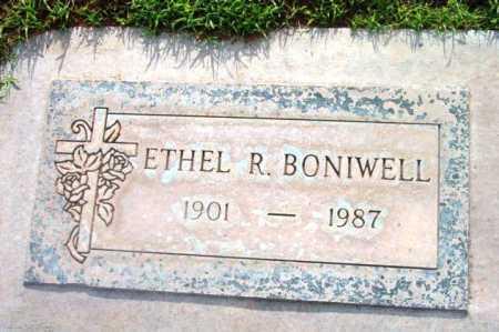 BONIWELL, ETHEL R. - Yavapai County, Arizona | ETHEL R. BONIWELL - Arizona Gravestone Photos