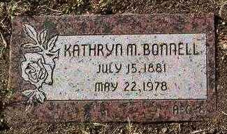 BONNELL, KATHRYN M. - Yavapai County, Arizona | KATHRYN M. BONNELL - Arizona Gravestone Photos