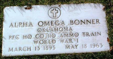 BONNER, ALPHA OMEGA - Yavapai County, Arizona | ALPHA OMEGA BONNER - Arizona Gravestone Photos