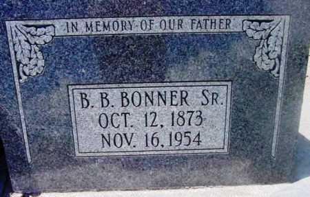 BONNER, BENJAMIN BECK - Yavapai County, Arizona | BENJAMIN BECK BONNER - Arizona Gravestone Photos