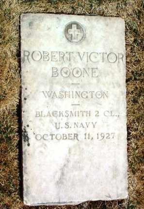 BOONE, ROBERT VICTOR - Yavapai County, Arizona | ROBERT VICTOR BOONE - Arizona Gravestone Photos
