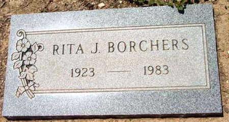 KING BORCHERS, RITA J. - Yavapai County, Arizona   RITA J. KING BORCHERS - Arizona Gravestone Photos