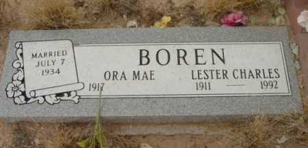 STOUT BOREN, ORA MAE - Yavapai County, Arizona | ORA MAE STOUT BOREN - Arizona Gravestone Photos