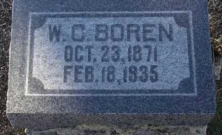 BOREN, WILLIAM CARROLL - Yavapai County, Arizona   WILLIAM CARROLL BOREN - Arizona Gravestone Photos