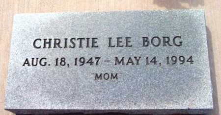 RALSTON BORG, CHRISTIE LEE - Yavapai County, Arizona | CHRISTIE LEE RALSTON BORG - Arizona Gravestone Photos