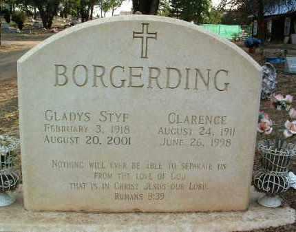 BORGERDING, CLARENCE - Yavapai County, Arizona | CLARENCE BORGERDING - Arizona Gravestone Photos